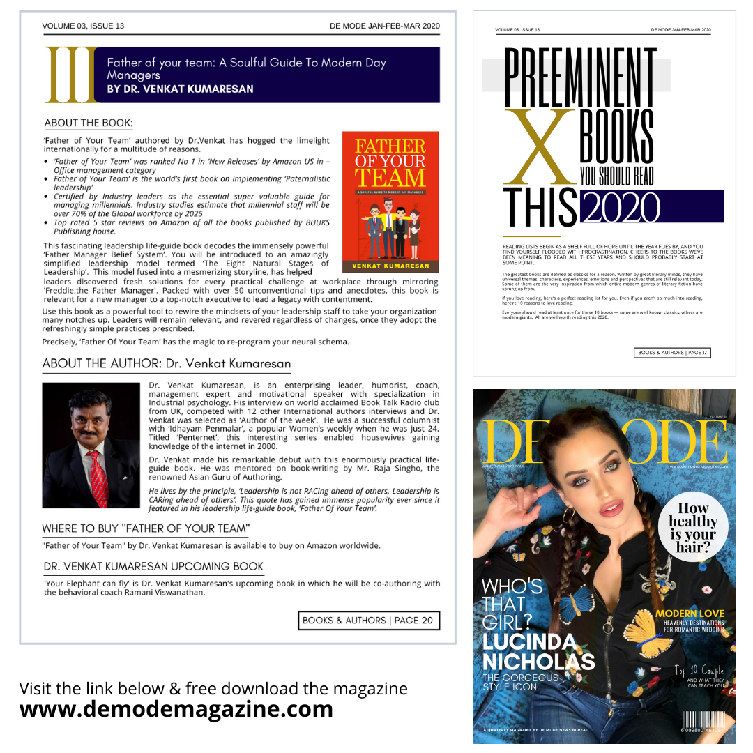 Top 10 Must-Read Books in 2020, by De Mode International LifeStyle Magazine